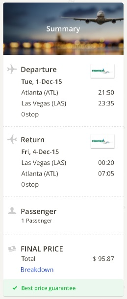 Atlanta to Las Vegas