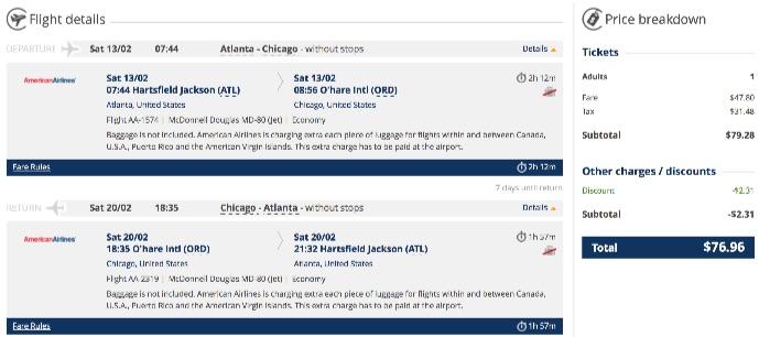 Atlanta-to-Chicago