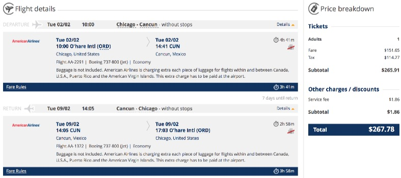 chicago-to-cancun