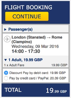 London to Rome