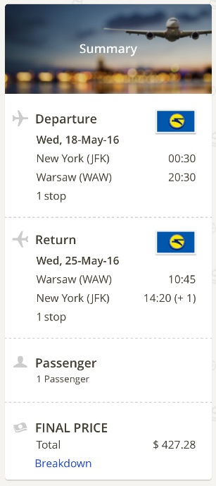 new-york-to-warsaw