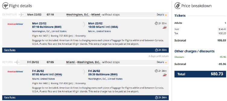 washington-to-miami