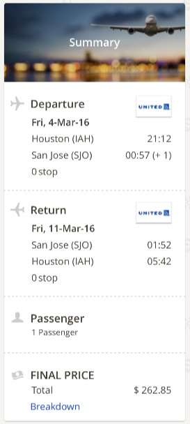 houston-to-san-jose-costa-rica
