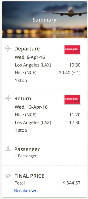 los-angeles-to-nice-france
