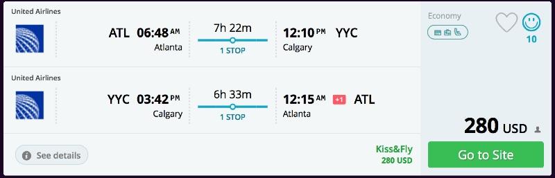 Atlanta_to_Calgary_flights
