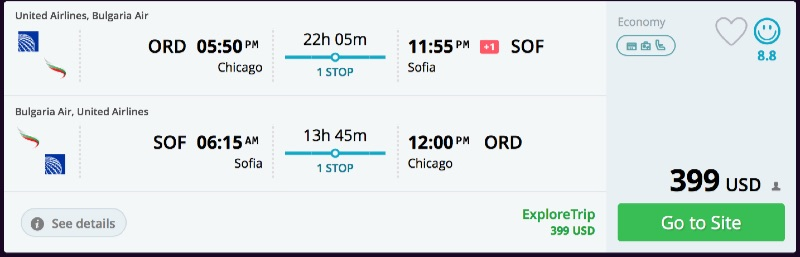 Chicago_to_Sofia_flights
