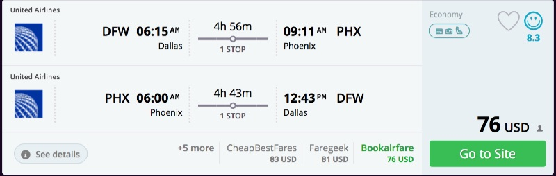 Dallas_to_Phoenix_flights