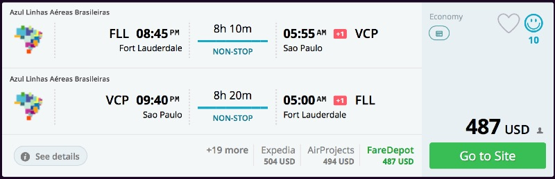 Fort_Lauderdale_to_Sao_Paulo_flights