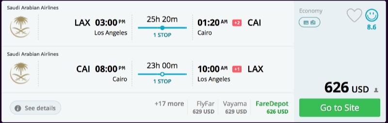Los_Angeles_to_Cairo_flights