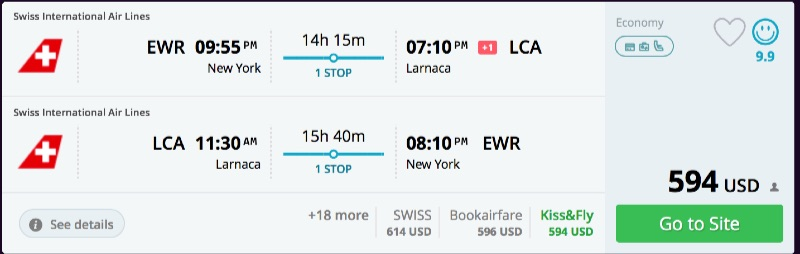 New_York_to_Larnaca_flights