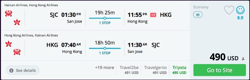 San_Jose_to_Hong_Kong_flights