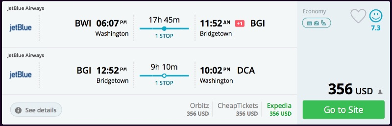 Washington_DC_to_Bridgetown_flights