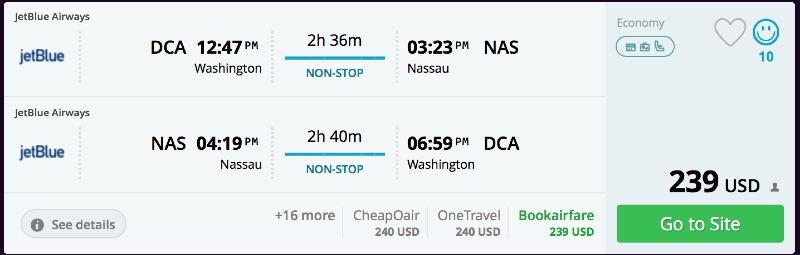 Washington_DC_to_Nassau_flights