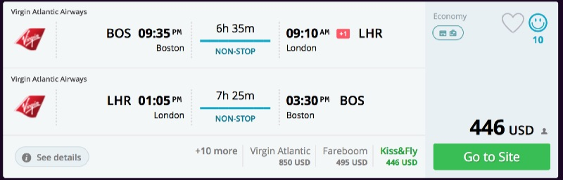 Washington_to_London_flights