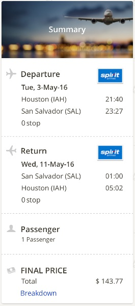 houston-to-san-salvador