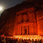 Amman, Jordan - Petra by night