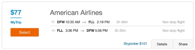 Cheap_flights_from_Fort_Worth_to_Fort_Lauderdale_-_Dohop