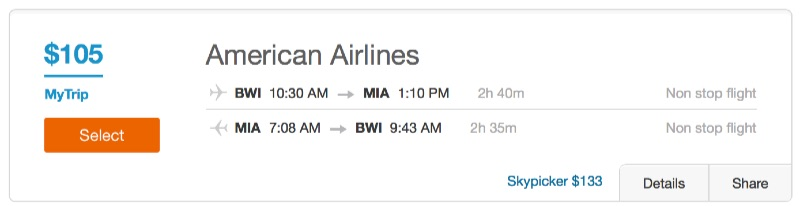 Cheap_flights_from_Washington_D_C__to_Miami_-_Dohop