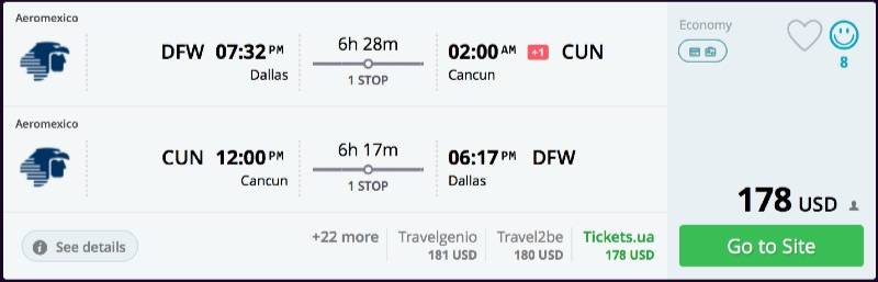 Dallas_to_Cancun_flights_-_momondo