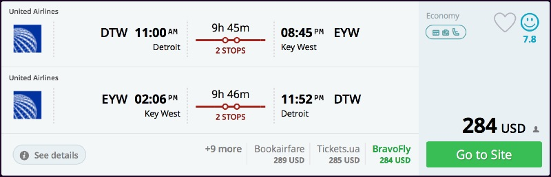 Detroit_to_Key_West_flights_-_momondo