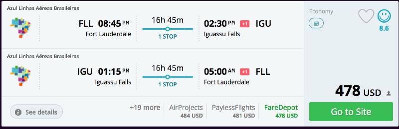 Fort_Lauderdale_to_Iguassu_Falls_flights_-_momondo