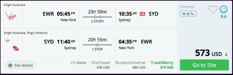 New_York_to_Sydney_flights