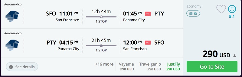 San_Francisco_to_Panama_City_flights_-_momondo