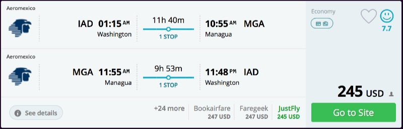 Washington_DC_to_Managua_flights_-_momondo