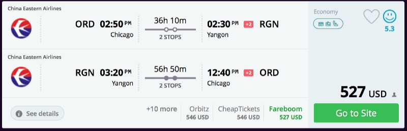 Chicago_to_Yangon_flights_-_momondo
