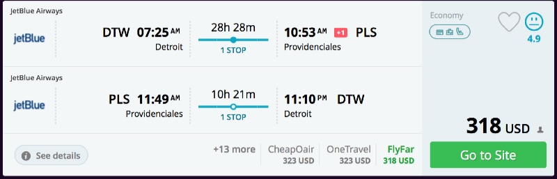 Detroit_to_Providenciales_flights_-_momondo