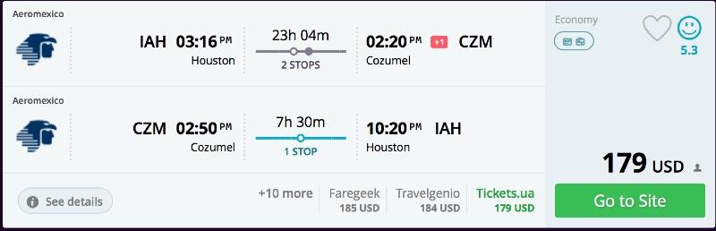 Houston_to_Cozumel_flights_-_momondo