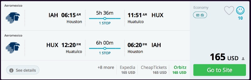 Houston_to_Huatulco_flights_-_momondo
