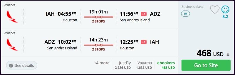 Houston_to_San_Andres_Island_flights_-_momondo