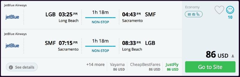 Long_Beach_to_Sacramento_flights_-_momondo