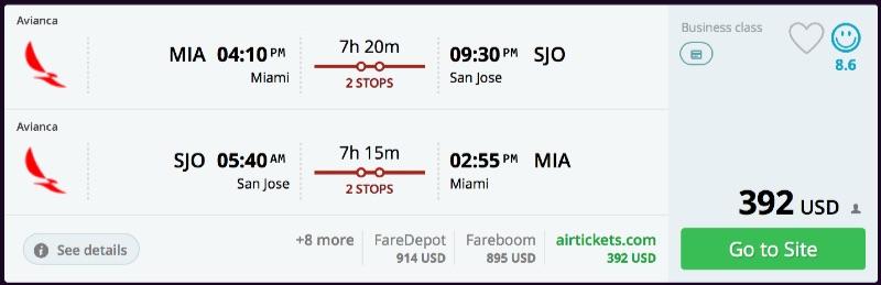 Miami_to_San_Jose_flights_-_momondo