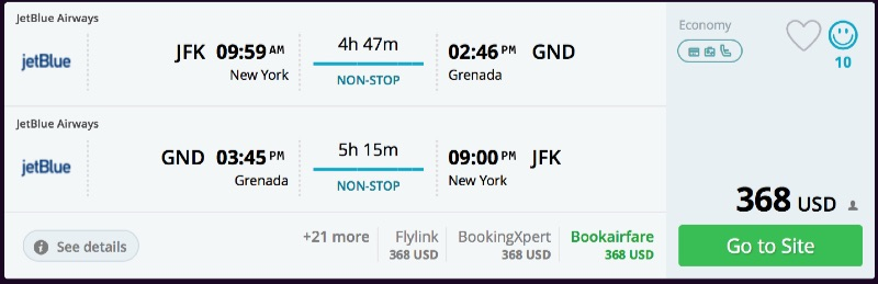 New_York_to_Grenada_flights_-_momondo