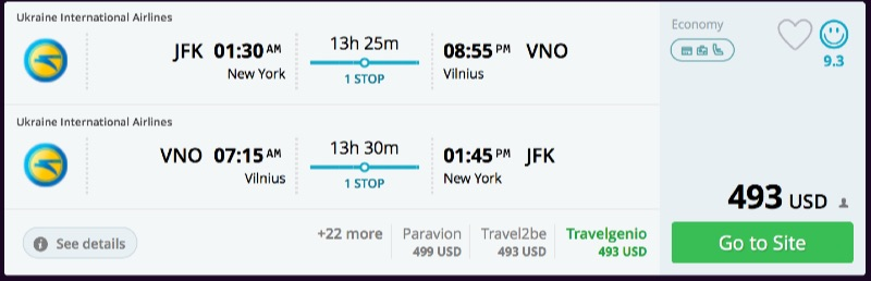 New_York_to_Vilnius_flights_-_momondo