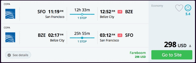 San_Francisco_to_Belize_City_flights_-_momondo