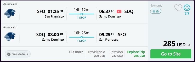 San_Francisco_to_Santo_Domingo_flights_-_momondo