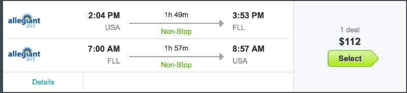 Charlotte to Miami