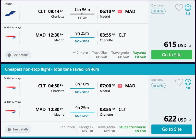 Charlotte_to_Madrid_flights_-_momondo