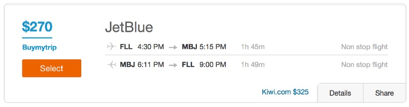 Cheap_flights_from_Fort_Lauderdale_to_Montego_Bay_-_Dohop