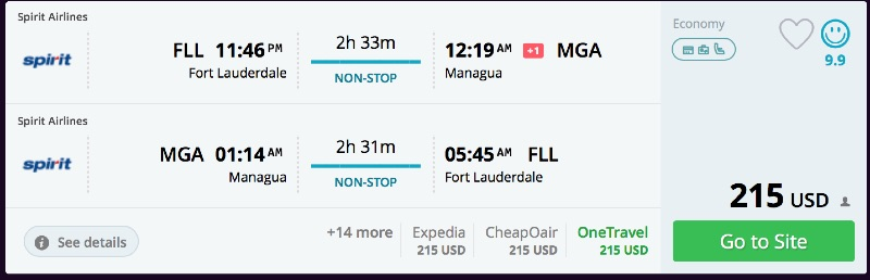 Fort_Lauderdale_to_Managua_flights_-_momondo
