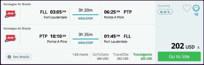 Fort_Lauderdale_to_Pointe_A_Pitre_flights_-_momondo
