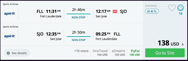 Fort_Lauderdale_to_San_Jose_flights_-_momondo