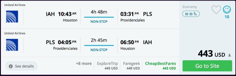 Houston_to_Providenciales_flights_-_momondo