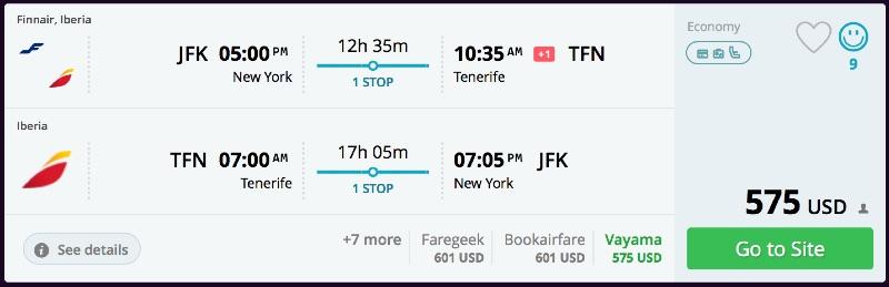 New_York_to_Tenerife_flights_-_momondo