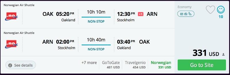 Oakland_to_Stockholm_flights_-_momondo