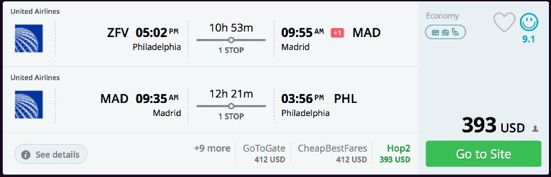 Philadelphia_to_Madrid_flights_-_momondo