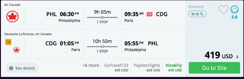 Philadelphia_to_Paris_flights